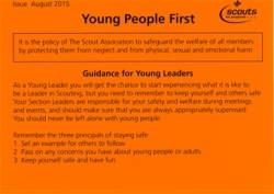 Small Young People First Orange Card - £0.00