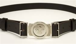 Standard leather belt with buckle - £16.00