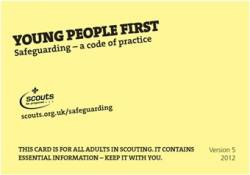 Small Young People First Yellow Card - £0.00